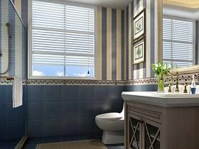 地中海浴室淋浴房設計案例展示
