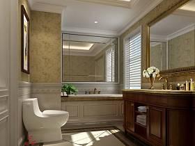 地中海浴室淋浴房圖片