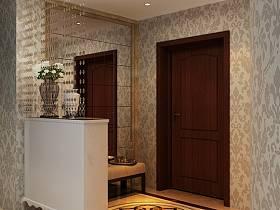 歐式歐式風格玄關玄關柜圖片