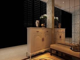 欧式欧式风格玄关玄关柜案例展示