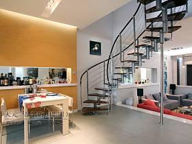 现代现代风格楼梯设计案例