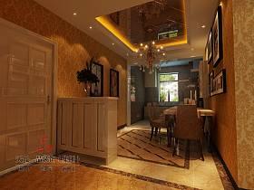 欧式欧式风格玄关玄关柜装修案例