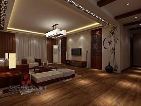 中式中式风格客厅装修效果展示