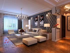 現代現代風格客廳背景墻沙發客廳沙發裝修效果展示