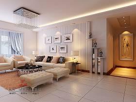 现代现代风格客厅背景墙沙发客厅沙发装修效果展示