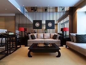 简约简约风格背景墙沙发设计方案