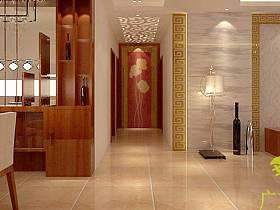 中式中式风格过道设计方案