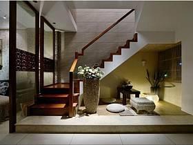 现代现代风格楼梯装修效果展示