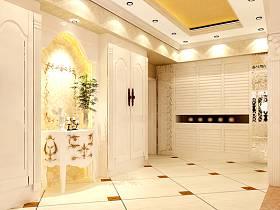 欧式欧式风格玄关玄关柜设计图