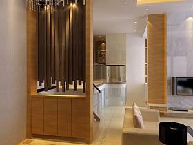 现代现代风格玄关玄关柜装修图