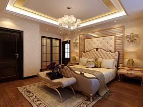 新古典古典新古典風格古典風格臥室吊頂裝修圖