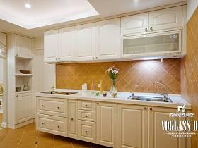 田園韓式田園風格廚房設計圖