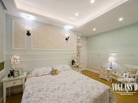 田园韩式田园风格卧室图片