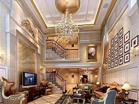 法式法式风格客厅装修图
