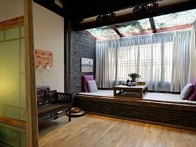 中式木质地板装修效果展示