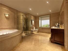 欧式别墅浴室设计案例展示