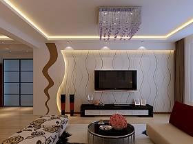簡約簡約風格客廳背景墻電視背景墻圖片