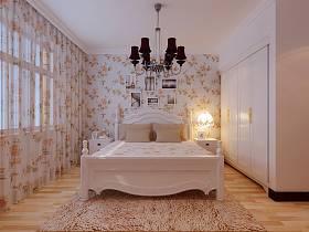 田园韩式田园风格卧室设计方案