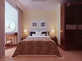 混搭现代混搭风格卧室案例展示