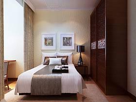 混搭现代混搭风格卧室设计图