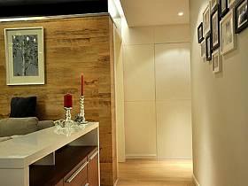 現代玄關衛生間玄關柜設計案例