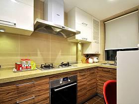 清新現代簡約廚房裝修圖
