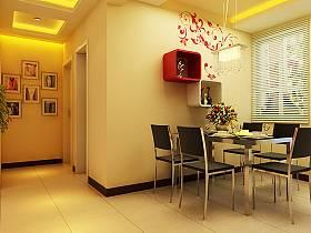 現代餐廳吊頂設計案例