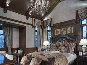 美式臥室案例展示
