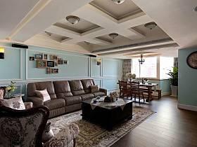 美式美式風格客廳圖片