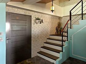 玄关楼梯玄关柜效果图