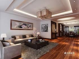 中式中式风格客厅装修图