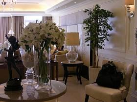 歐式歐式風格客廳休閑區裝修案例