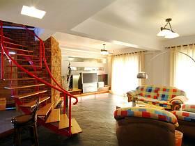 混搭混搭風格樓梯裝修效果展示