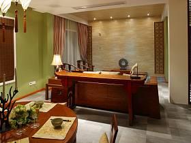 中式中式風格客廳裝修效果展示