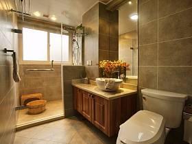 中式中式风格卫生间设计案例