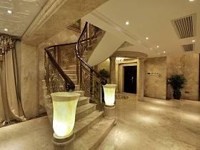 欧式过道楼梯图片