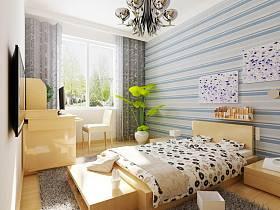 現代簡約現代簡約簡約風格現代簡約風格臥室設計圖
