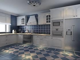地中海地中海风格厨房设计方案