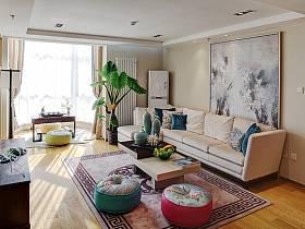中式中式风格新中式客厅设计方案