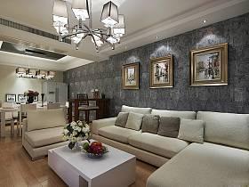 客厅吧台沙发单人沙发案例展示