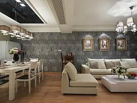 客厅餐厅沙发单人沙发设计图