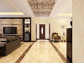 中式中式风格新中式走廊效果图