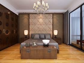 中式中式风格新中式卧室设计案例展示
