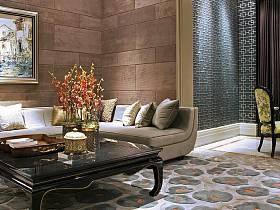 新古典古典新古典风格古典风格背景墙沙发设计图