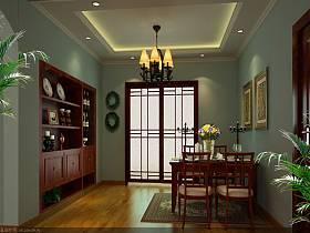 中式中式风格新中式餐厅装修效果展示