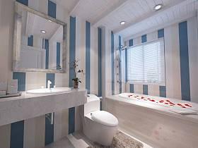 地中海地中海风格浴室设计图
