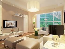 现代简约现代简约简约风格现代简约风格客厅电视背景墙设计案例