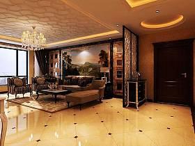 欧式欧式风格客厅背景墙沙发客厅沙发装修图