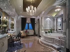 欧式浴室淋浴房设计案例