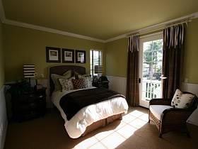 美式美式風格臥室效果圖